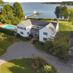 Waterfront Estate Aerial