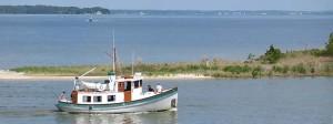 Cruising Urbanna Harbor