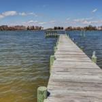 dock with boat slip