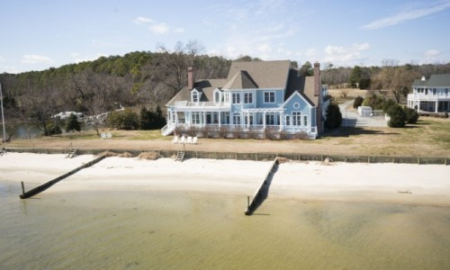 Hamptons style beach house
