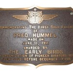Hummel Airfield commemoration plaque