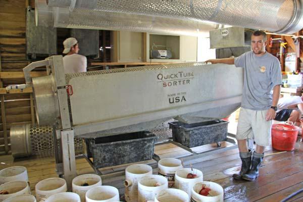 Oyster harvesting equipment