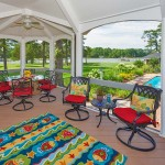 Waterside Gazebo Screened Porch