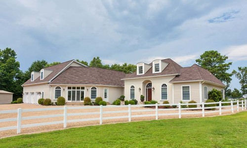 Northern Neck Equestrian Waterfront Home