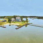 Severn River waterfront home with beach