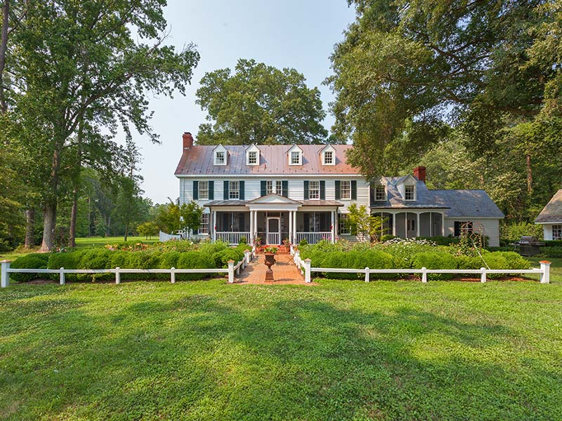 Historic Waterfront Estate Home