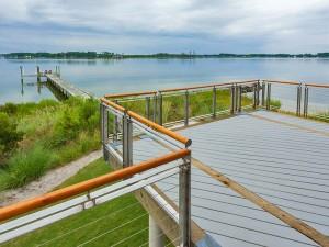 waterside deck & dock