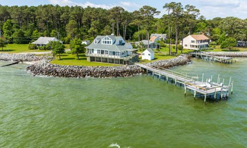Chesapeake Bay Waterfront home