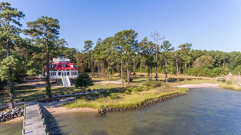 Lighthouse Style Home In Gloucester Virginia Rodgers