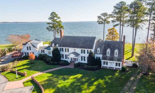 Urbanna waterfront estate home at Kilmer Point