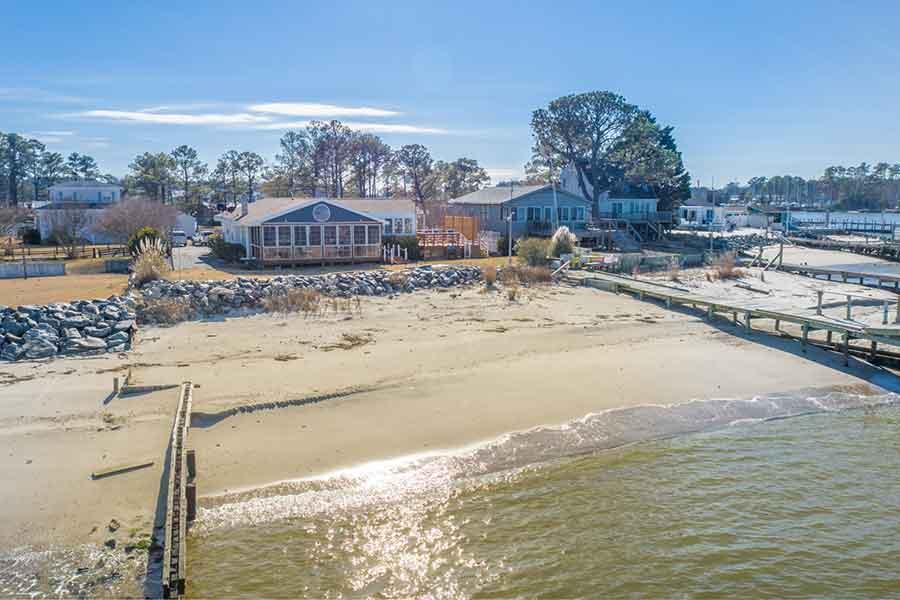 Beachfront at White Point Cove