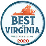 VA Living 2021 Best of Badge