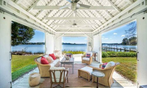 Circa 1750 waterfront summer house